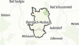 Karte / Ebersbach-Musbach
