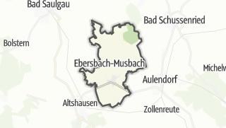 Cartina / Ebersbach-Musbach