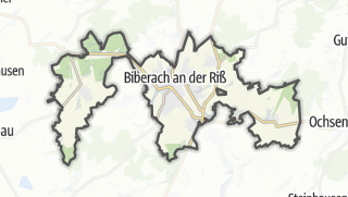 Karte / Biberach an der Riß