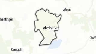 Karte / Alleshausen