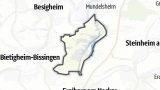 地图 / Ingersheim
