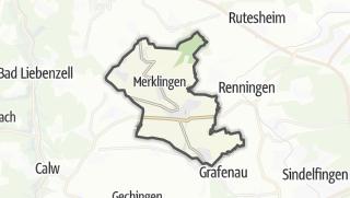 Carte / Weil der Stadt