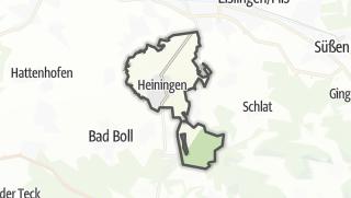 Karte / Heiningen