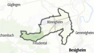 地图 / Bönnigheim