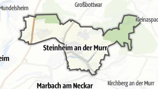 地图 / Steinheim an der Murr