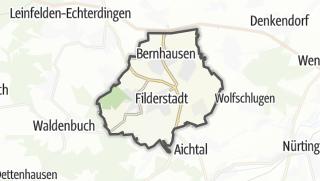 Cartina / Filderstadt