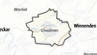 מפה / Schwaikheim