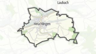 地图 / Heuchlingen