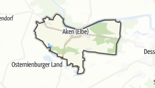 Carte / Aken (Elbe)