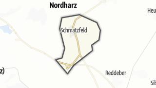 Mapa / Schmatzfeld