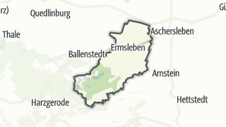 Mapa / Falkenstein/Harz