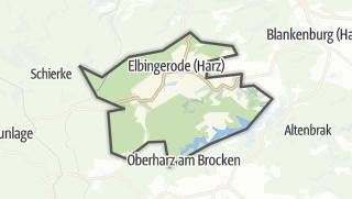 Mapa / Elbingerode (Harz)