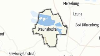 Carte / Braunsbedra