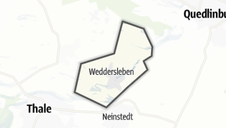 Mapa / Weddersleben