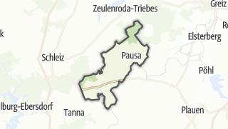 地图 / Pausa-Mühltroff