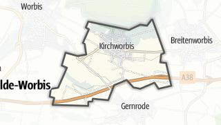 Map / Kirchworbis