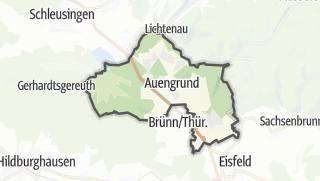Cartina / Auengrund
