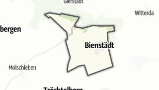 Cartina / Bienstädt