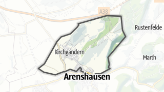 Map / Kirchgandern