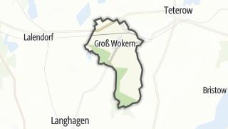 Carte / Gross Wokern