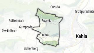 Karte / Bibra