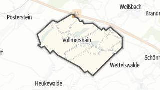 מפה / Vollmershain