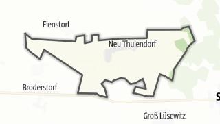 מפה / Thulendorf