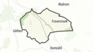 Carte / Friedrichsruhe