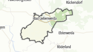 Hartă / Bad Liebenwerda