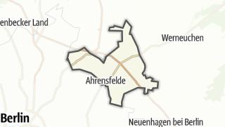 Cartina / Ahrensfelde-Blumberg