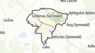 Cartina / Lübbenau/Spreewald