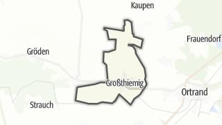 Hartă / Großthiemig