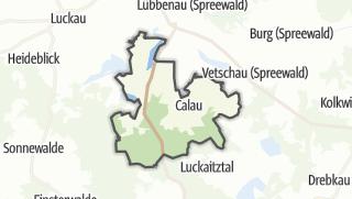 Cartina / Calau