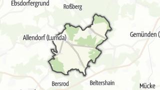 Mapa / Rabenau