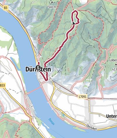 Carte / Dürnstein