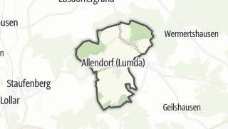 Mapa / Allendorf (Lumda)