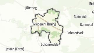 Cartina / Niederer Fläming