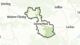Cartina / Dahme/Mark