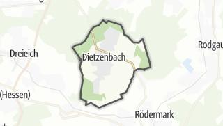 Karte / Dietzenbach