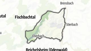 Carte / Fraenkisch-Crumbach