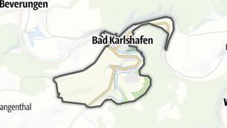 Karte / Bad Karlshafen