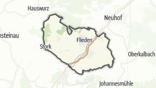 Mapa / Flieden