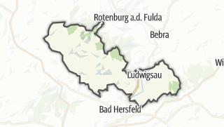 Karte / Ludwigsau