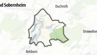 Map / Odernheim am Glan