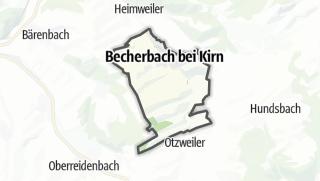 Map / Becherbach bei Kirn