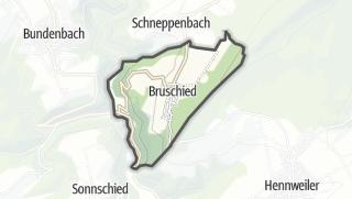Karte / Bruschied