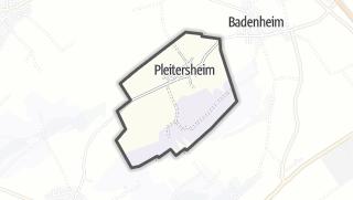 Karte / Pleitersheim