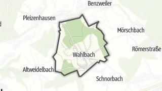 Karte / Wahlbach