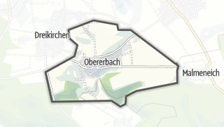 Mapa / Obererbach