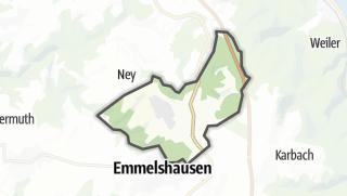 Mapa / Halsenbach